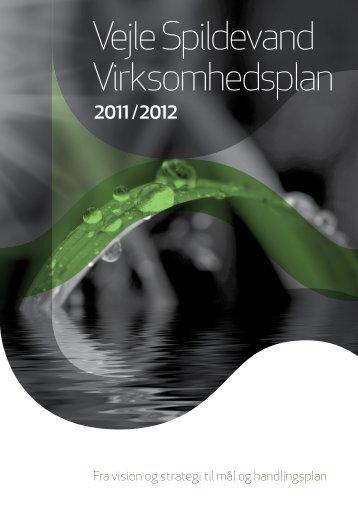 """""""Virksomhedsplan 2011"""". - Vejle Spildevand"""