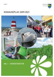 Kommuneplan 2009-2021 Hovedstruktur.pdf - Odsherred Kommune