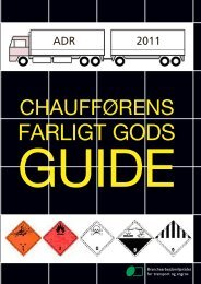 chaufførens farligt gods - BAR transport og engros