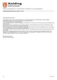 Arbejdsmiljøhåndbog for Seniorområdet - Kolding Kommune