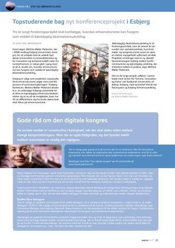 FokUS PÅ / SYD- oG SØNDERJYLLAND - Inspiring Denmark