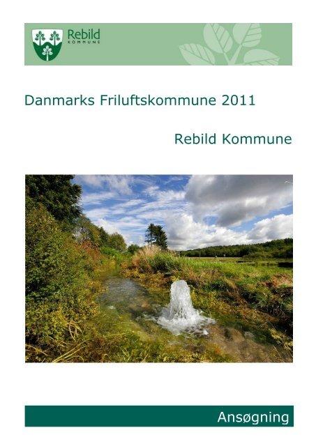 Danmarks Friluftskommune 2011 - Velkommen til Landsbyerne ...