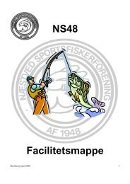NS48 Facilitetsmappe - Næstved Sportsfiskerforening
