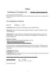 Udkast - Dansk Fritidsfiskerforbund