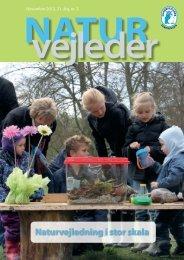 Naturvejledning i stor skala - Naturvejlederforeningen i Danmark