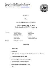 Referat fra kredsbestyrelsesmøde 20/8/2008 - DcH Kreds 3