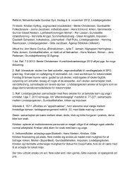 Referat fra sidste netværksmøde - Kirkerup Kirke