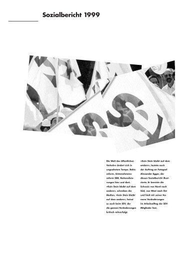 SEV Sozialbericht 1999