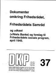 DKP og Frihedskampen Bind 37