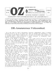 DR-Amatørernes Virksomhed. - Søg i OZ