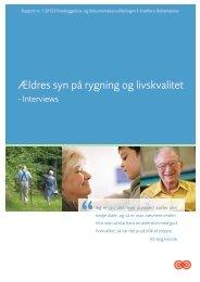 Ældres syn på rygning og livskvalitet - Kræftens Bekæmpelse