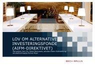 aifm-direktivet - Bech-Bruun