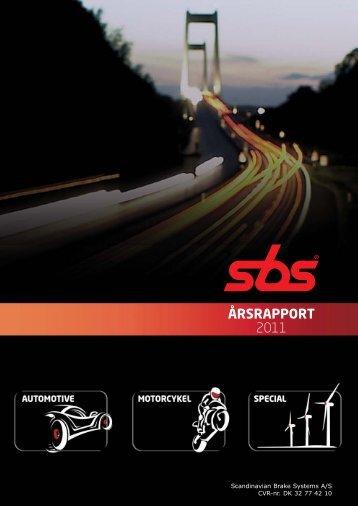 ÅRSRAPPORT 2011 - Scandinavian Brake Systems A/S