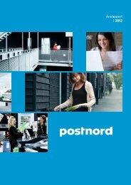 Årsrapport | 2012 - PostNord
