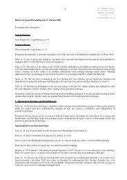 Referat - Grundejerforeningen Nordmarksvænge