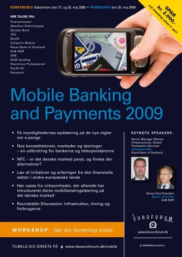 mobile Banking and payments 2009 - IBC Euroforum