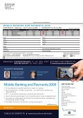 mobile Banking and payments 2009 - IBC Euroforum - Page 6