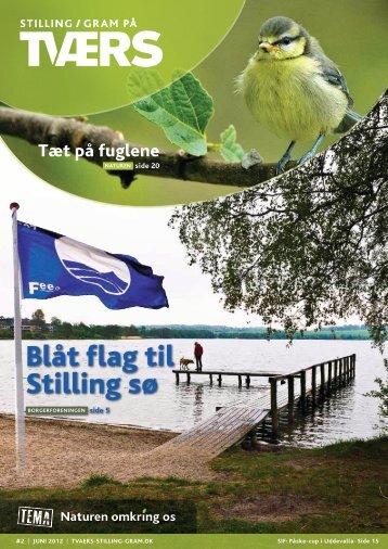 Blåt flag til Stilling sø - Stilling / Gram på TVÆRS