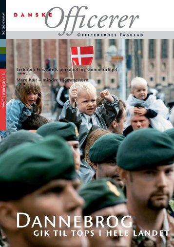gik til tops i hele landet - Hovedorganisationen af Officerer i Danmark