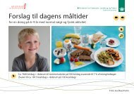 Forslag til dagens måltider - Alt om kost