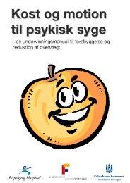 Kost og motion til psykisk syge - Bispebjerg Hospital