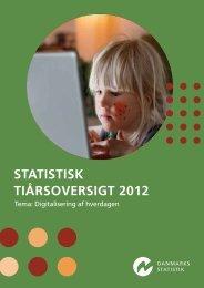 STATISTISK TIÅRSOVERSIGT 2012 - Schultz Boghandel A/S