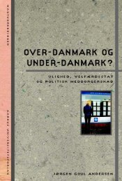 Over-Danmark og under-Danmark? - Aarhus University Press ...