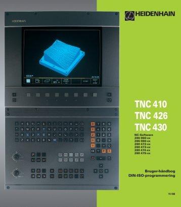 TNC 410 TNC 426 TNC 430 - heidenhain