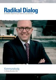 Kommunalvalg - Radikale Venstre