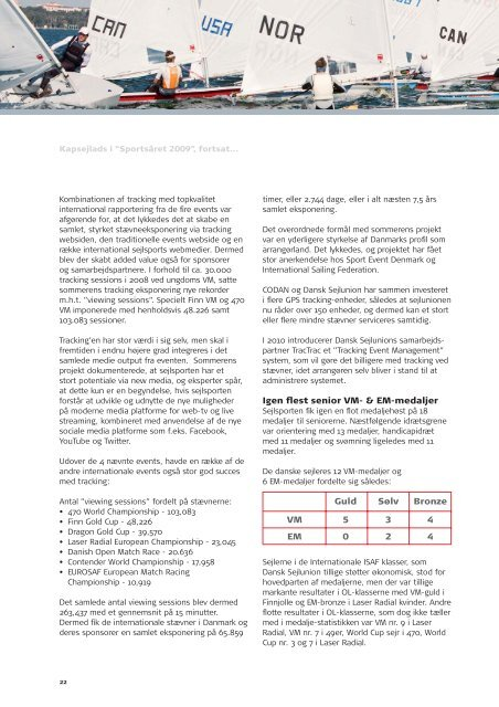 2009 Dansk Sejlunion Årsberetning (pdf)