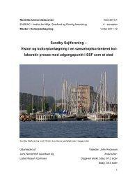 Læs hele afhandlingen (pdf) - Sundby Sejlforening