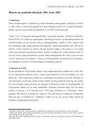 Historie og samfundsvidenskab, SDU, forår 2005 - Få ny viden i ...