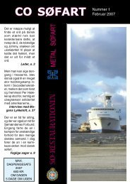Fagblad 1-2007 - CO-SEA