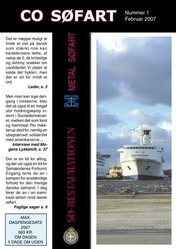 Fagblad 1-2007 - CO-SEA