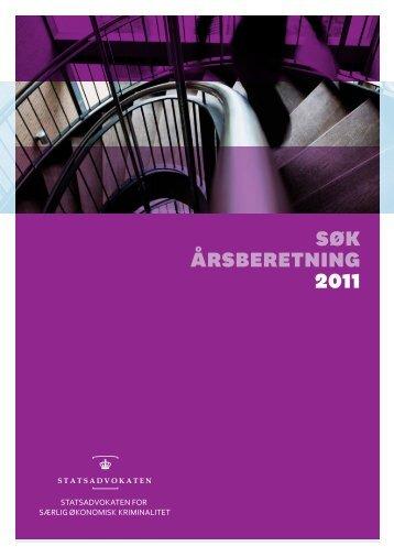 SØK årSberetning 2011 - Anklagemyndigheden