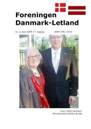 Blade nr. 2 - 2009 - Foreningen Danmark - Letland