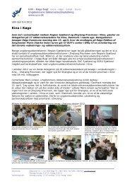 Læs hele pressemeddelsen - UUV Køge Bugt