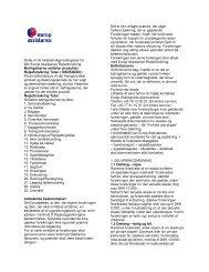 Rejseforsikring Total - Europ Assistance