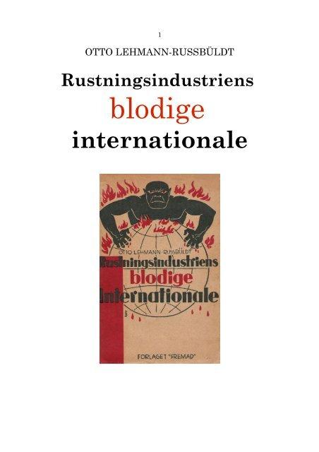 Rustningsindustriens blodige Internationale - Det danske ...