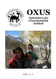 Oxus - Centralasiatisk Selskab