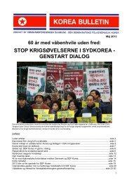 Bulletin maj 2013 (pdf-fil) - dk-Korea
