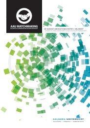 De danske innovationscentre i udlandet folder - AAU Matchmaking