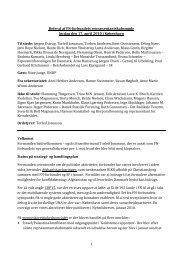 Referat af repræsentantskabsmøde 17. april 2010 - FN-forbundet