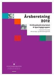 Læs hele Årsberetning 2012 her