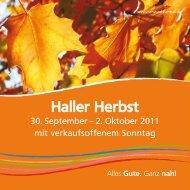 Haller Herbst