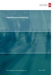 Vejledning om modultestning - Ny i Danmark