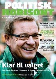 Politisk Horisont nr. 2 2009 - Konservative.dk
