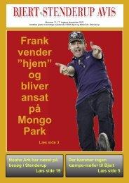 """Frank vender """"hjem"""" - Bjert Stenderup Net-Avis"""