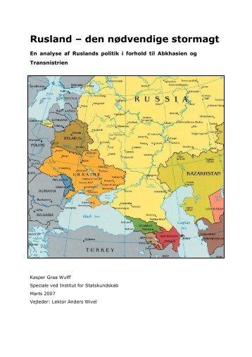 Rusland – den nødvendige stormagt