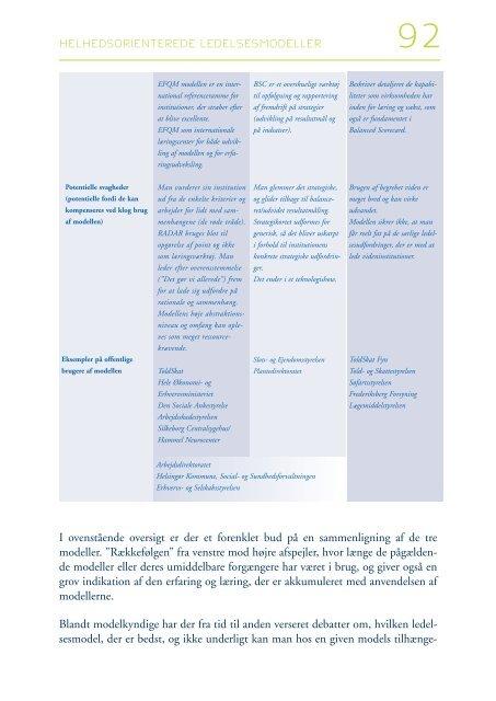 Modernisering af den offentlige sektor - Naturstyrelsen